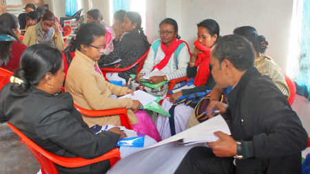 Training about prevention, detection and management of arsenicosis in India