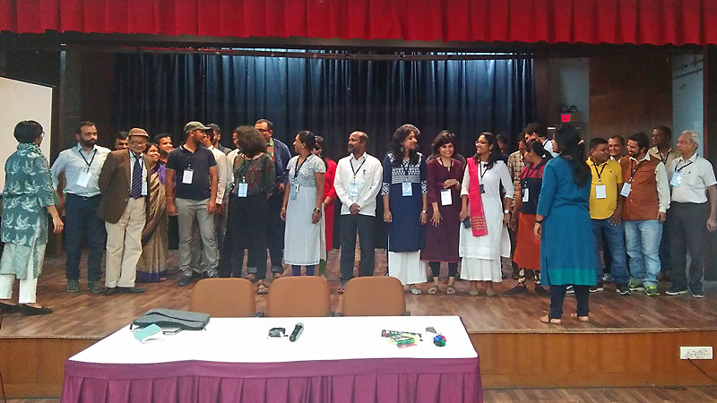 India: Telling the water quality story – training and workshop
